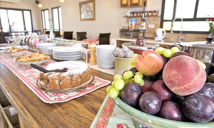 5 ארוחת בוקר זוגית כשרה במלון גרנד ויסטה, כפר יובל