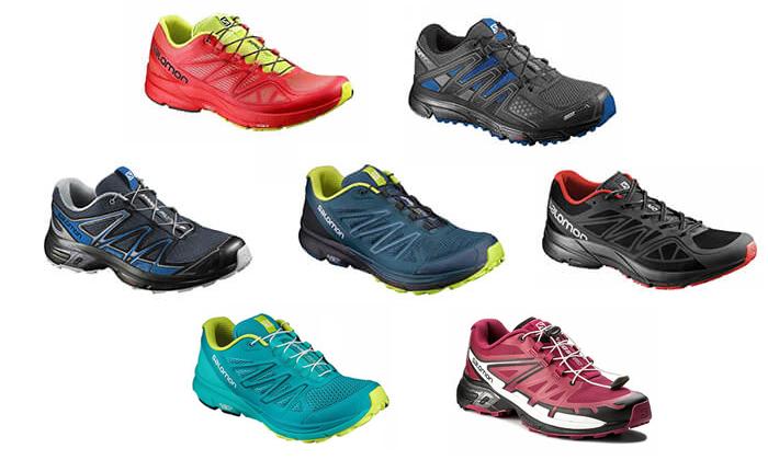 25 נעלי ריצה לגברים ולנשים סלומון Salomon
