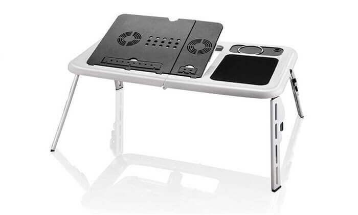 4 שולחן מתקפל למחשב נייד