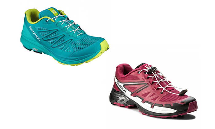2 נעלי ריצה לנשים סלומון Salomon