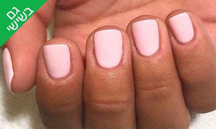 3 מניקור ופדיקור ג'ל אצל Shira polish nails, רחובות