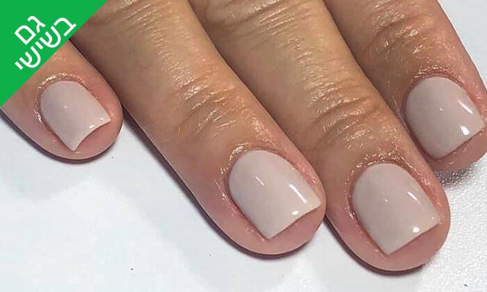 4 מניקור ופדיקור ג'ל אצל Shira polish nails, רחובות