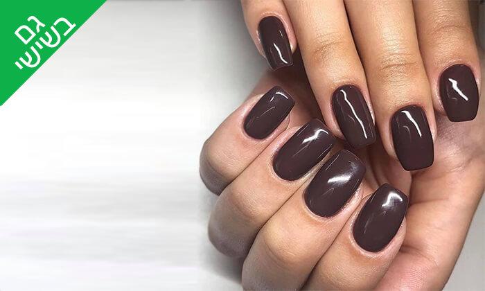 5 מניקור ופדיקור ג'ל אצל Shira polish nails, רחובות