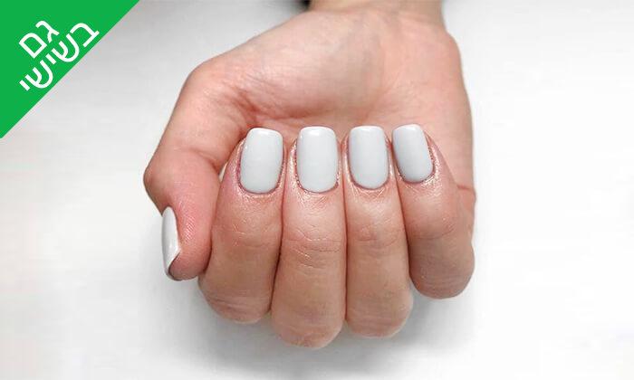 2 מניקור ופדיקור ג'ל אצל Shira polish nails, רחובות