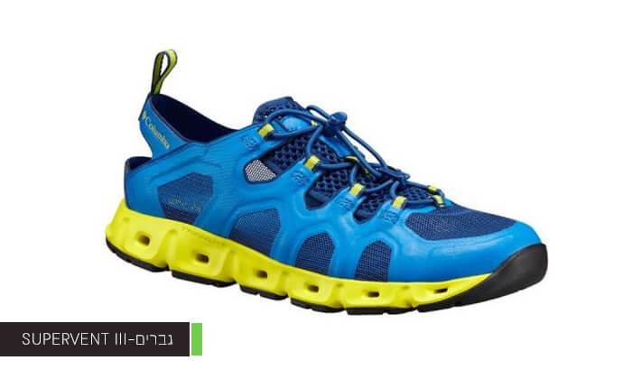 3 נעלי קולומביה Columbia לנשים ולגברים