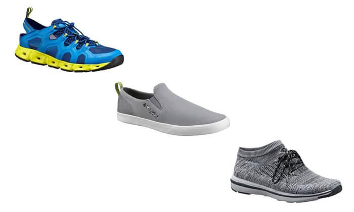 10 נעלי קולומביה Columbia לנשים ולגברים