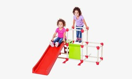 מתקן טיפוס וגלישה לילדים