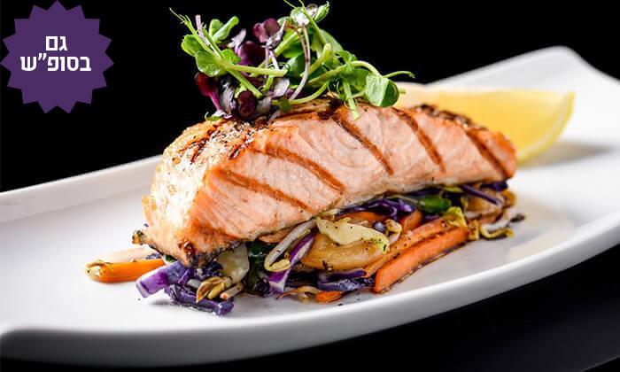 2 ארוחת דגים לזוג במסעדת לחם בשר הכשרה למהדרין, מרינה הרצליה