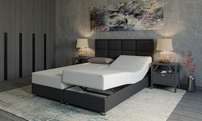 3 מיטה זוגית אורתופדית RAM DESIGN דגם לואיג'י