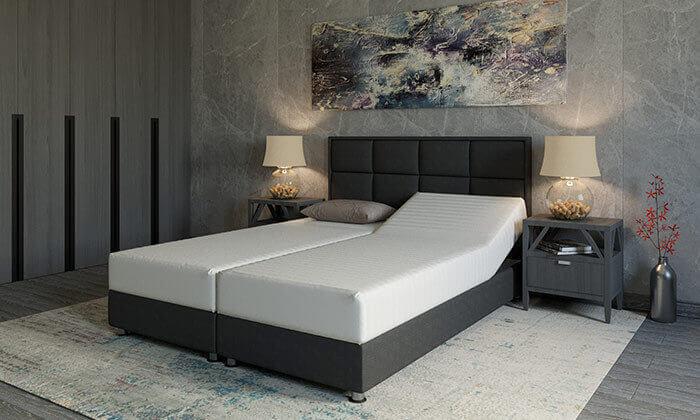 2 מיטה זוגית אורתופדית RAM DESIGN דגם לואיג'י