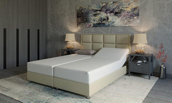 5 מיטה זוגית אורתופדית RAM DESIGN דגם לואיג'י