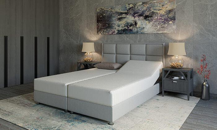 6 מיטה זוגית אורתופדית RAM DESIGN דגם לואיג'י