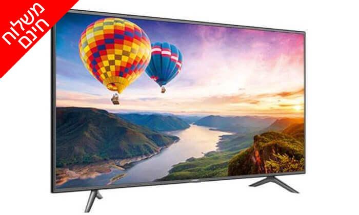 2 טלוויזיה חכמה ''50 HISENSE 4K דגם 50N3000UW