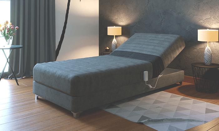 5 מיטה אורטופדית חשמלית RAM DESIGN מדגם לורינו