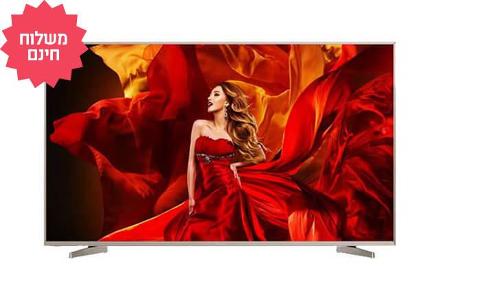 2 טלוויזיה חכמה 75 אינץ' HISENSE בדגם 75N5000UWG