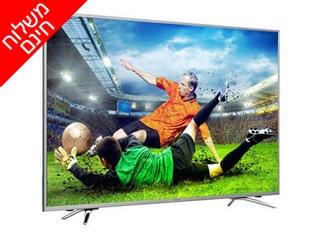 טלוויזיה חכמה 55 אינץ' HISENSE