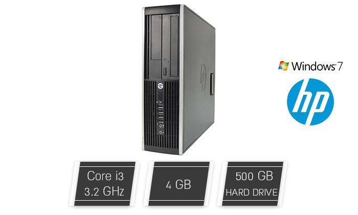 מחשב נייח HP עם מעבד i3 - משלוח חינם