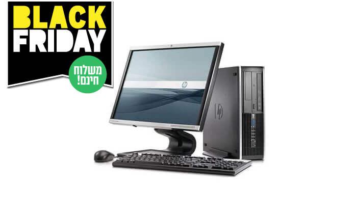 5 מחשב נייח HP עם מעבד i3 - משלוח חינם