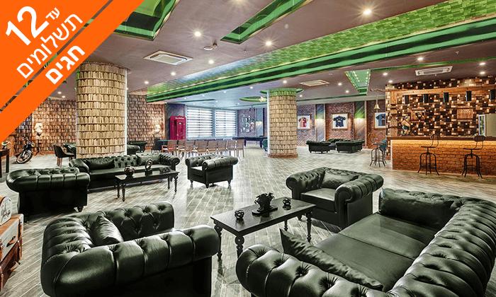 6 חופשה באנטליה - מלון אולטרה הכול כלול 5*, כולל סוכות