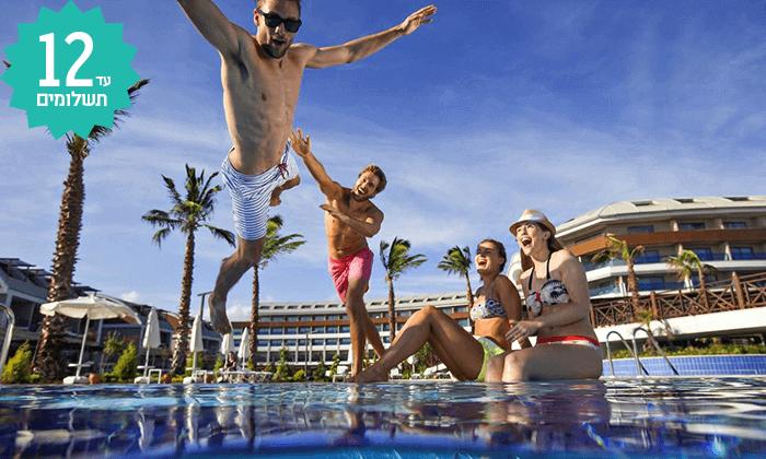 10 חבילת נופש לאנטליה - מלון אולטרה הכול כלול