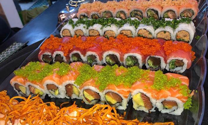 4 מסעדת נגיסה הכשרה בכיכר המדינה - ארוחה זוגית עם סושי בלי הגבלה