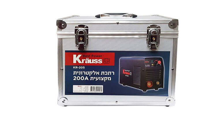 3 רתכת אלקטרונית Krauss