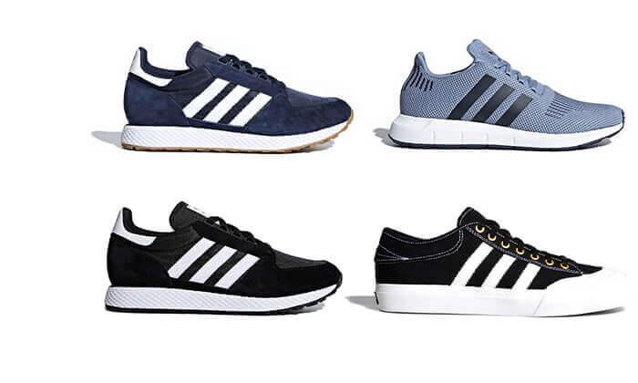 9 נעלי סניקרס adidas במבחר דגמים