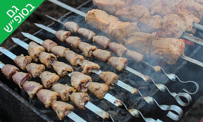 3 ארוחת בשרים זוגית במסעדת אבו שאקרה, חיפה