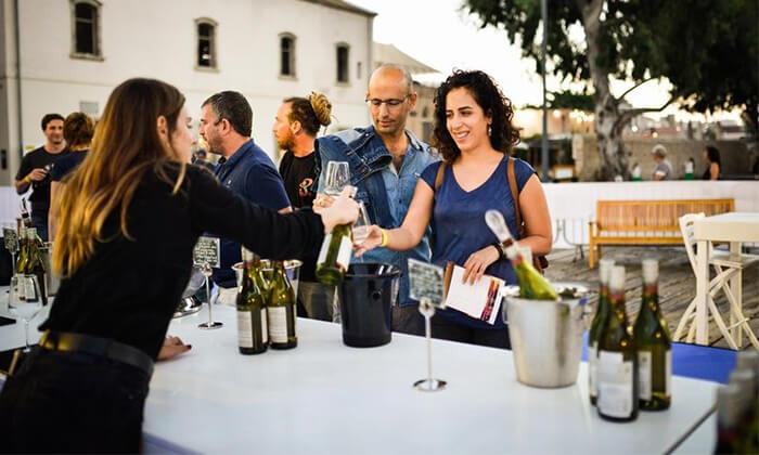 4 כרטיס לפסטיבל 'חג היין' כולל טעימות וסדנה, מתחם התחנה בתל אביב
