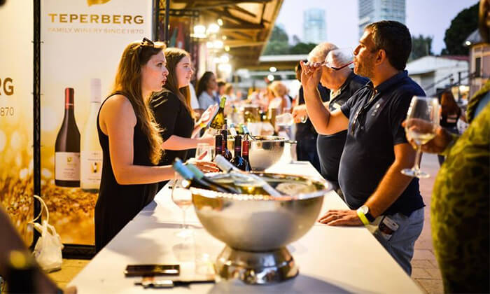 6 כרטיס לפסטיבל 'חג היין' כולל טעימות וסדנה, מתחם התחנה בתל אביב