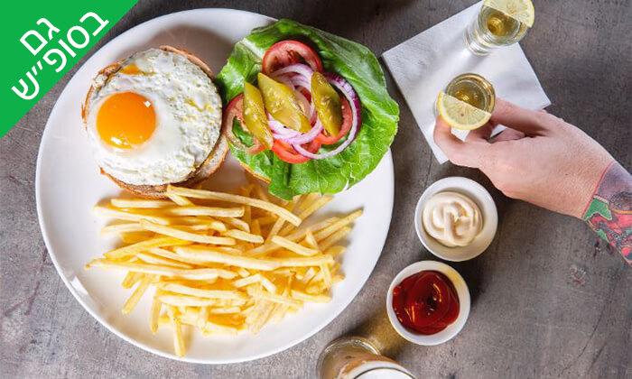 6 ארוחת המבורגר זוגית במסעדת רוטשילד 99, ראשון לציון