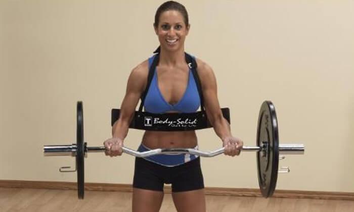 3 חגורת תמיכה להרמת משקל BODY SOLID