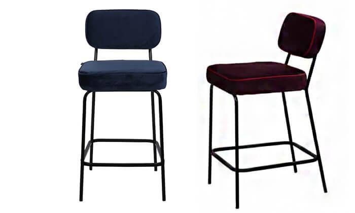7 ביתילי: כיסא בר דגם ניקו