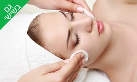 עיסוי פנים או טיפול פנים קלאסי