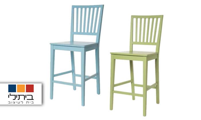 2 ביתילי: כיסא בר דגם אסיינדה דיסטרס
