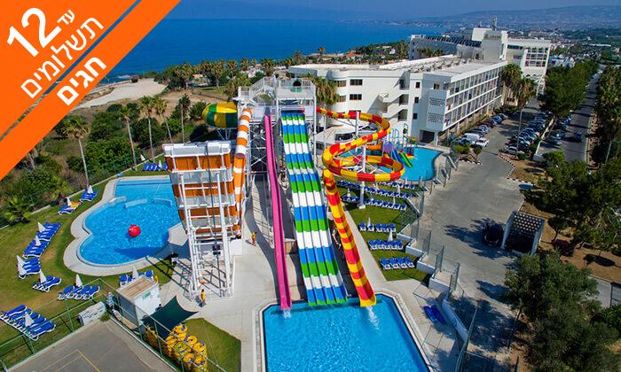 7 מחיפה לפאפוס - חופים, נופים ומלון הכול כלול עם פארק מים, כולל סוכות