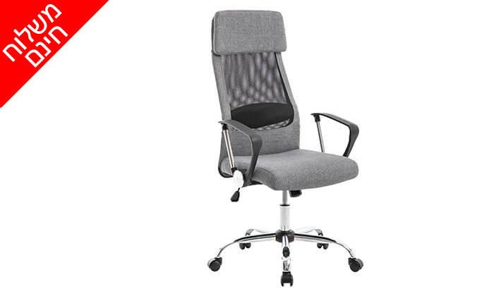 2 כיסא מנהלים אורתופדי - משלוח חינם