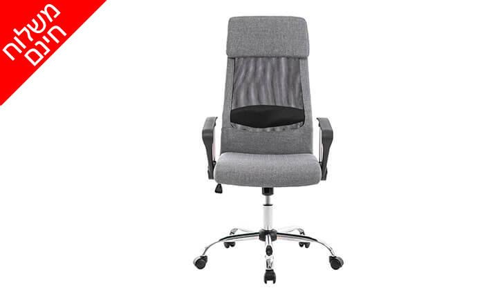 4 כיסא מנהלים אורתופדי - משלוח חינם
