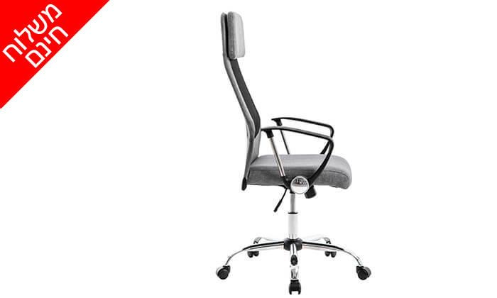 3 כיסא מנהלים אורתופדי - משלוח חינם