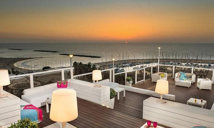 8 יום כיף במלון לאונרדו ארט תל אביב