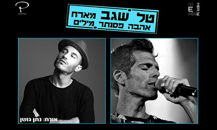 2 טל שגב מארח את נתן גושן במופע 'אהבה, פסנתר, מילים' - מועדון הפאפאתיו, תל אביב