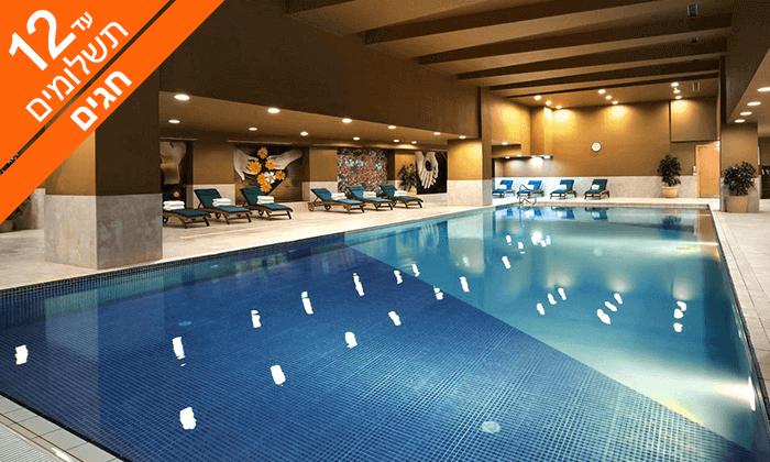 2 חופשת 5* במלטה - מלון Intercontinental עם חוף פרטי, כולל ראש השנה