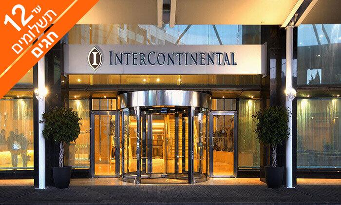 3 חופשה במלטה - מלון Intercontinental עם חוף פרטי