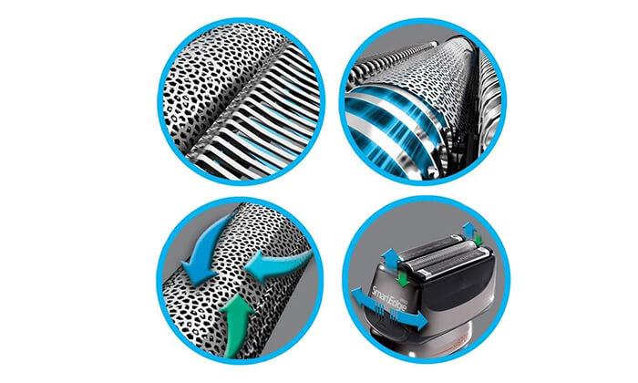 3 מכונת גילוח Smart Edge Pro