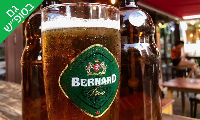 4 בירה ללא תחתית בבר מסעדה Craft TLV, תל אביב