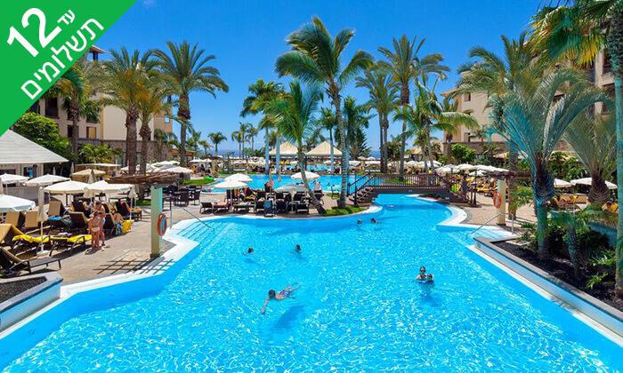 2 האי הספרדי טנריף - שמש כל השנה, ים כחול, חופים מדהימים ומלון 5* מפנק