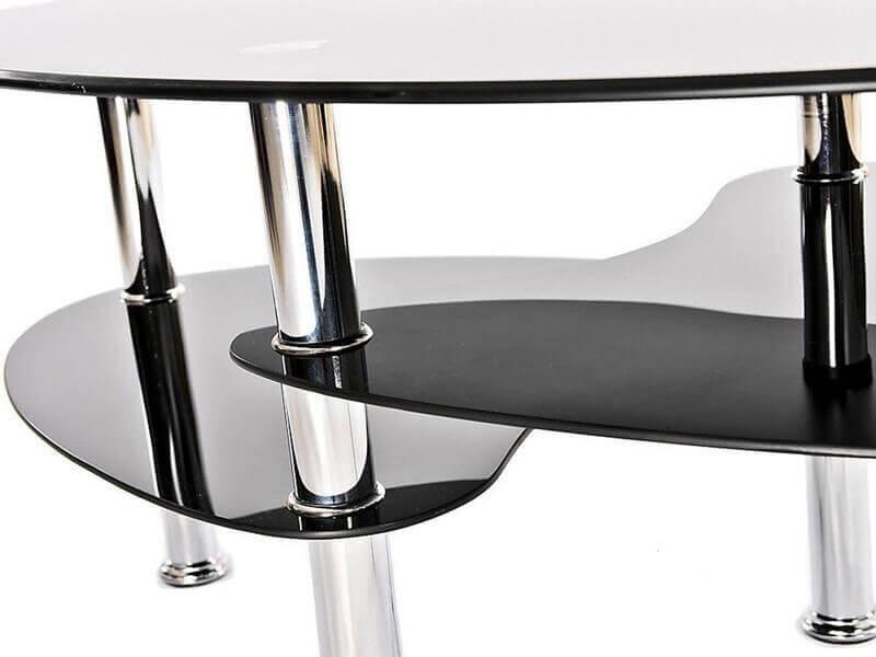 9 שולחן סלון אליפטי