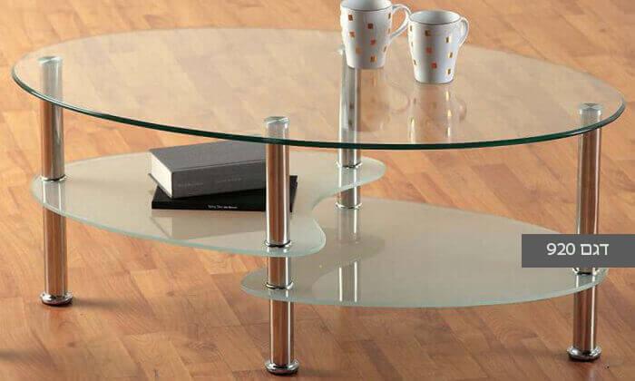 3 שולחן סלון אליפטי