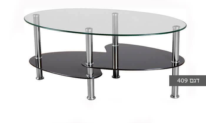 7 שולחן סלון אליפטי