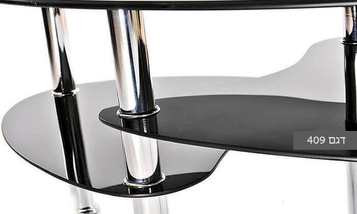 8 שולחן סלון אליפטי